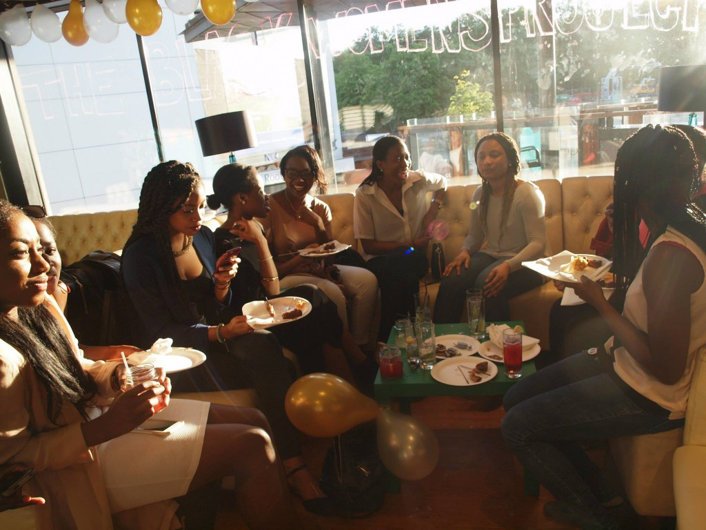 The BWP group gathered in Curiositea, Warwick University's independent cafe.