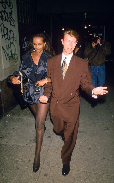 With Bowie