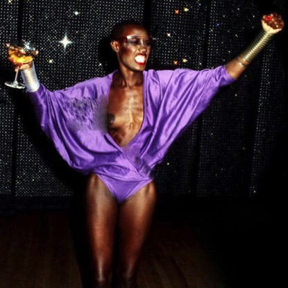 Grace Jones at Studio 54 by Adrian Boot