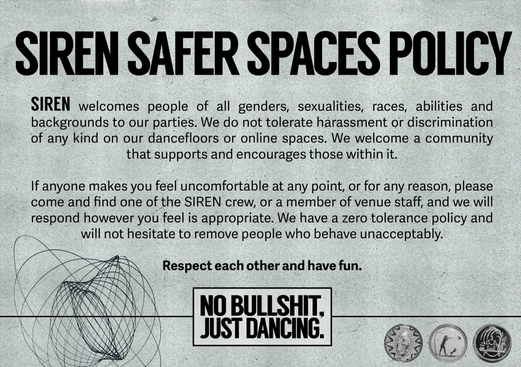 siren safe space