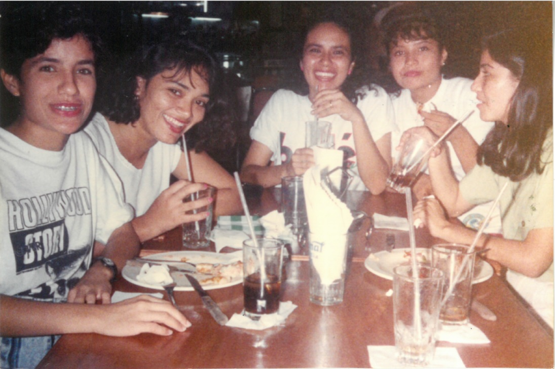 mami and college friends