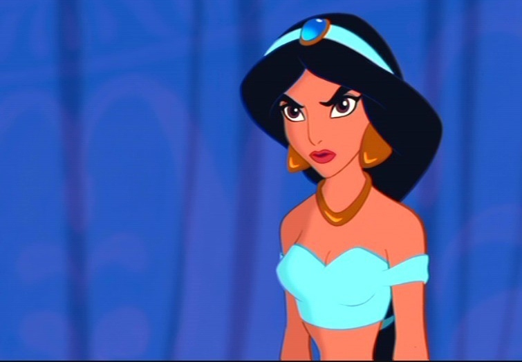 Jasmine pissed