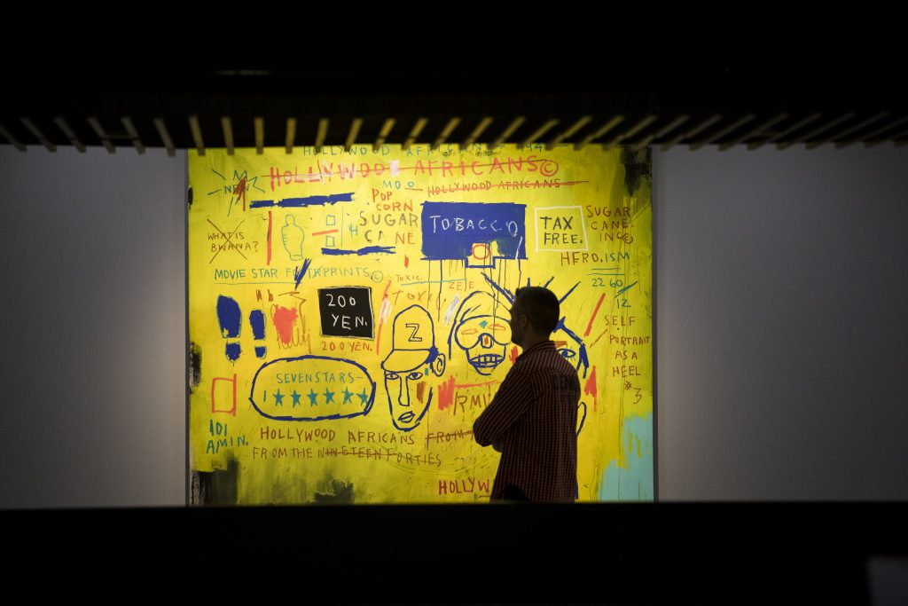 Basquiat - Hollywood Africans, Barbican Installation View