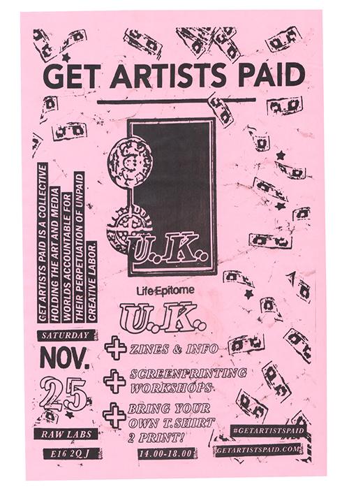 GAP get artists paid