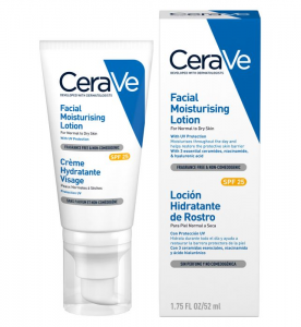 sunscreen - cerave facial