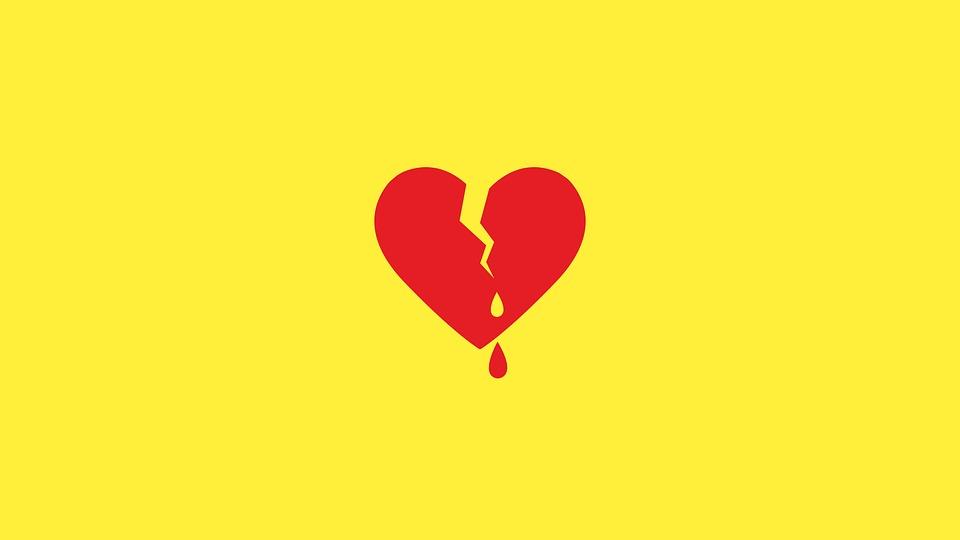 Heart Bleeding Heart Broken Heart Red Broken Love   gal-dem - gal-dem