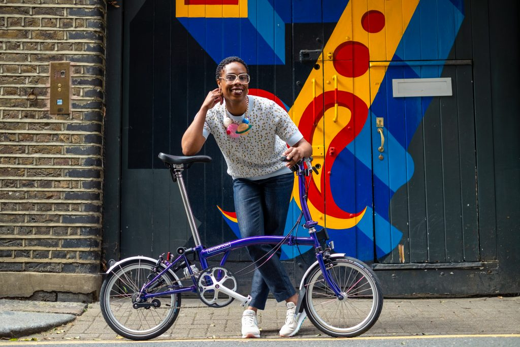 Jools Walker talks biking whilst black, mental health and how her debut book is encouraging women to get cycling | gal-dem