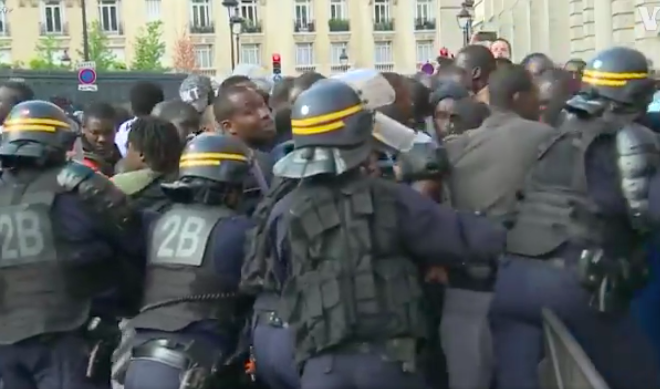 This week saw police attack migrants in Paris while the Met police say their institutional racism is over | gal-dem