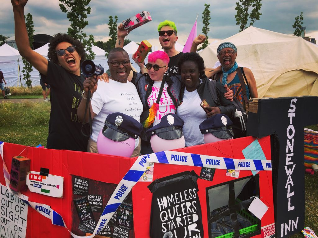 members of the Outside Project at UK Black Pride