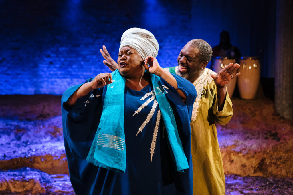 The High Table is a theatrical triumph which details the intricacies of queer black love and Nigerian ancestry   gal-dem