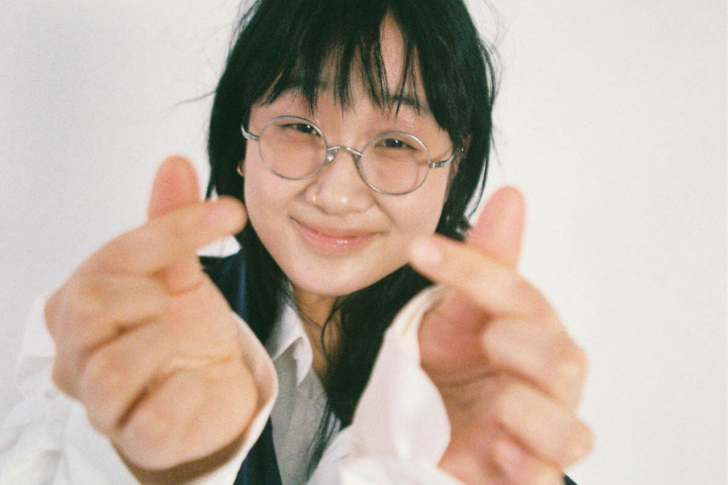photograph of artist yaeji taken by Dasom Hahn