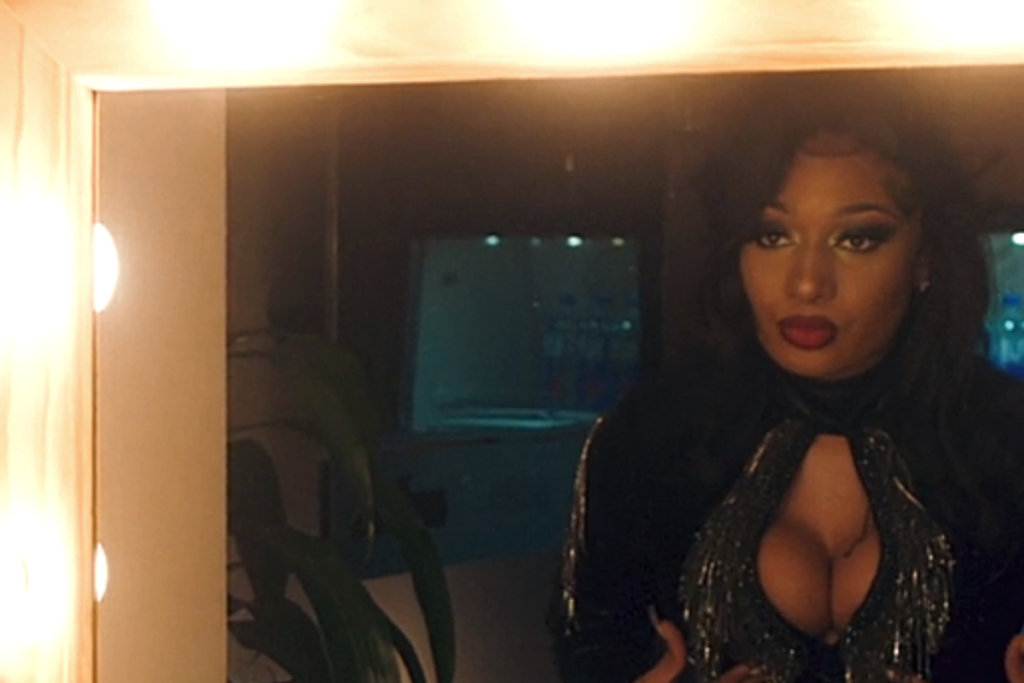 Megan Thee Stallion, Black women in front of a mirror