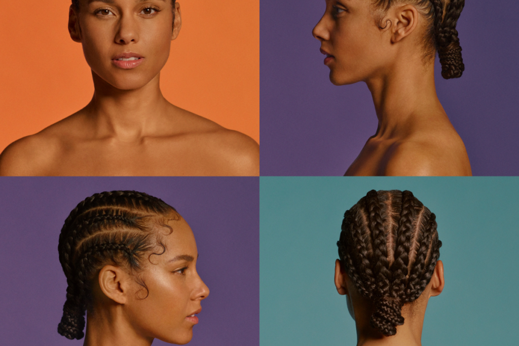 Alicia Keys album artwork for Five on it