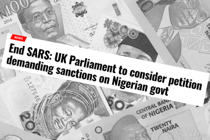 #EndSARS-sanctions-petition-Nigeria-headline-money