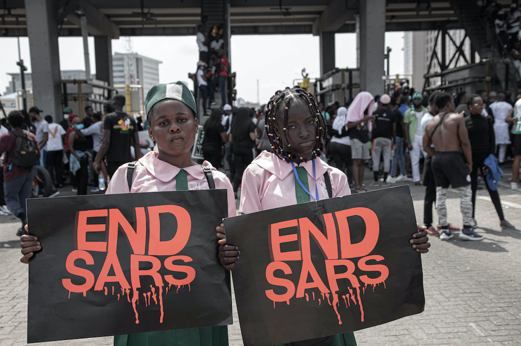 #EndSARS protests in Nigeria show that the youth wants change, now