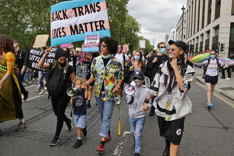Black Trans Lives Matter march in London