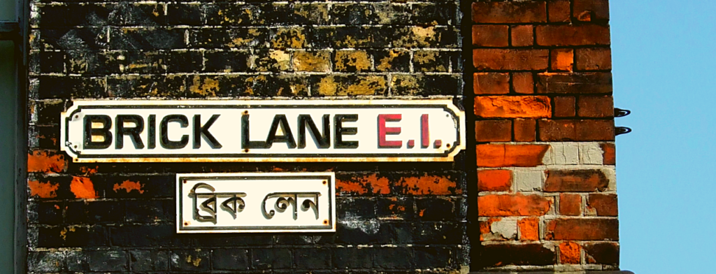 Image of the Brick Lane street sign