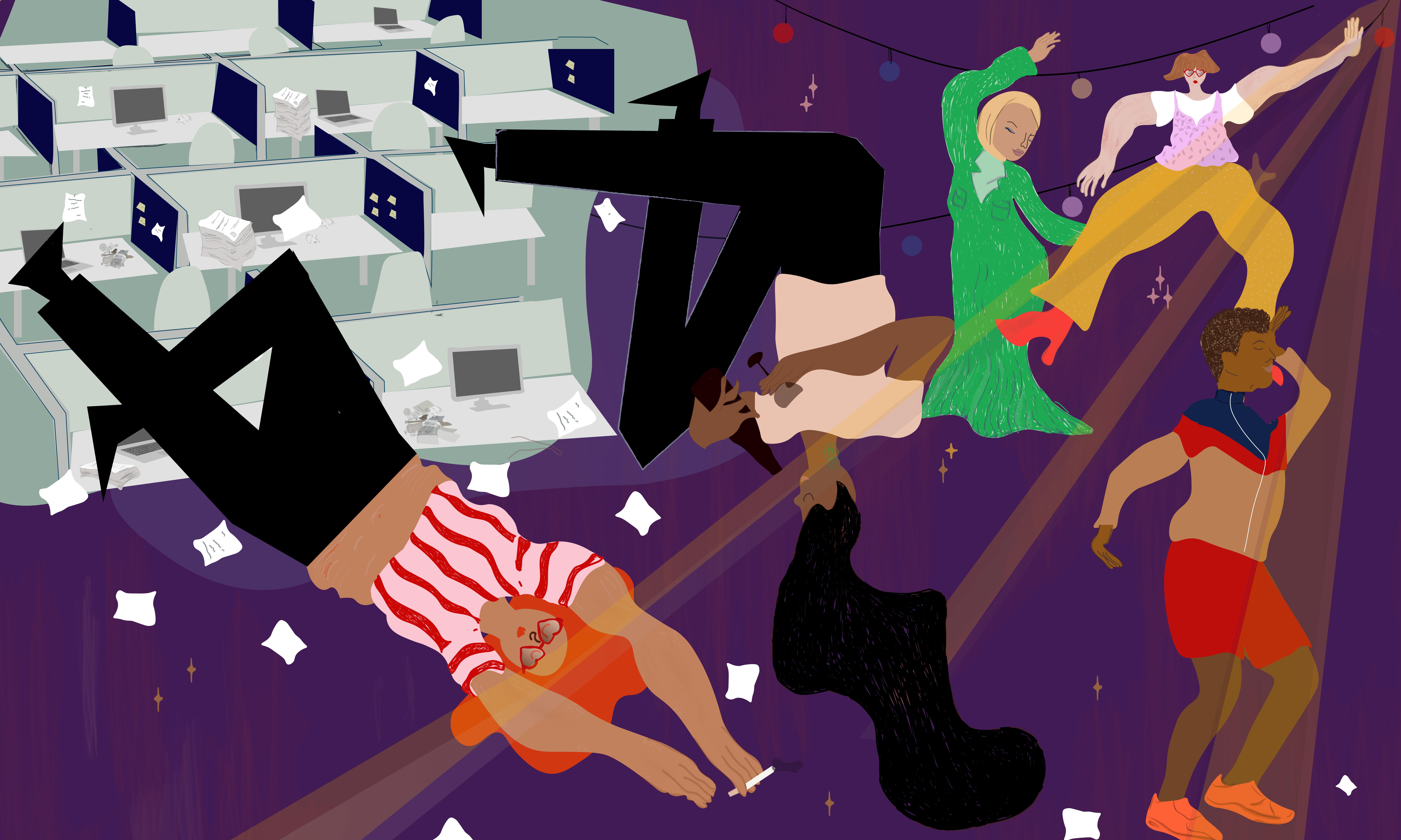 Why messy afterparties feel like resistance to a work-obsessed society